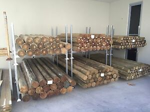 Treated Pine Round Precision Koppers Logs- H4 Timber Fence Posts Caloundra West Caloundra Area Preview