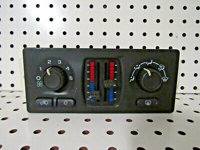 2003 2004 2005 2006 2007 2008 2009 Chevrolet Trailblazer Heater AC Control