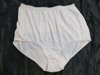Sears Nude Beige Brief Panty Sissy Silky Knickers Underwear Size 7//Large 39-40