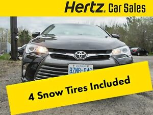 2016 Toyota Camry LE Backup Camera, 2.5L 4Cyl, 6 Speed Auto, Pwr