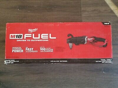 New In Box Milwaukee M18 Fuel 12 Super Hawg Right Hand Drill 2809-20