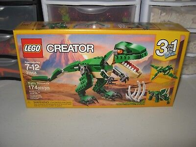 LEGO CREATOR 3 in1   MIGHTY DINOSAURS   # 31058    NEW IN BOX!!