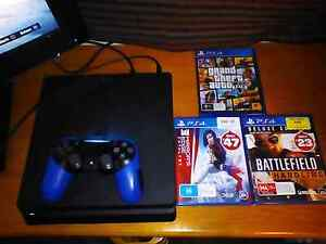 500g ps4 with games Adelaide CBD Adelaide City Preview