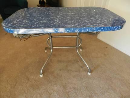 Vintage Retro Laminex Dining Table