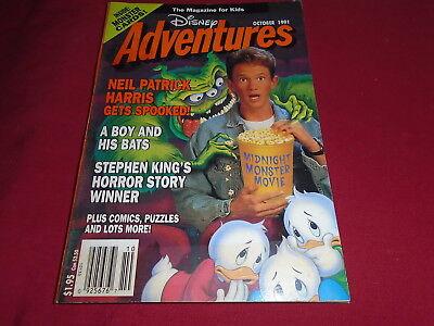 DISNEY ADVENTURES MAGAZINE  Oct 1991  Neil Patrick Harris VGC ()