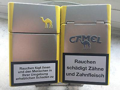 CAMEL Filters Zigarettenbox/Etui (Metall, für ganze Packung!)