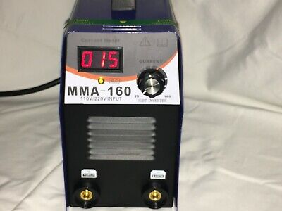 Welding Machine Inverter Electric Stick Arc Welder Igbt 110v 160 Amp Lcd Display
