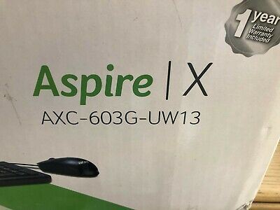 Acer Aspire X Compact Desktop PC Intel Celeron J1900 | AXC-603G-UW13 **NEW**
