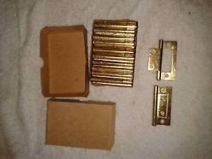 65mm Brass Hinge - Flush - non Mortise - PAIR Cranebrook Penrith Area Preview