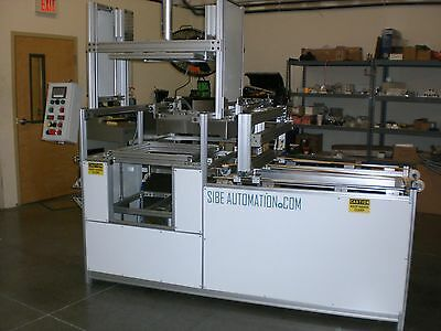 Sibe Automation Continuous Thermoforming Machine 24 X 24 Roll Stock Plug