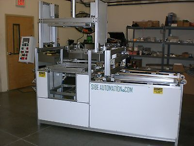 Sibe Automation Continuous Thermoforming Machine 24x24 Roll Stock Plug