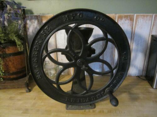 Antique Enterprise Mfg Co Coffee Grinder No. 750 Philadelphia PA Cast Iron