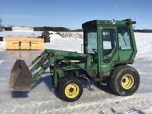 Tracteur à vendre John deere 955 diesel cabine loader
