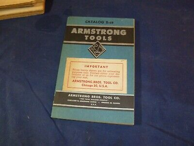 Armstrong Tools Catalog and Manual S-48