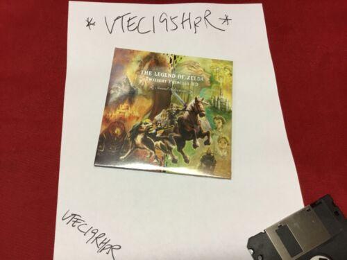 The Legend of Zelda Twilight Princess HD sound selection music CD Brand New