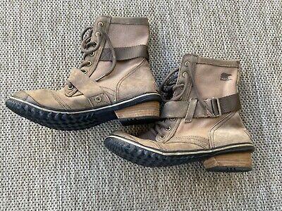 Sorel Women's Slimboot Lace Boots Size 8.5 Waterproof