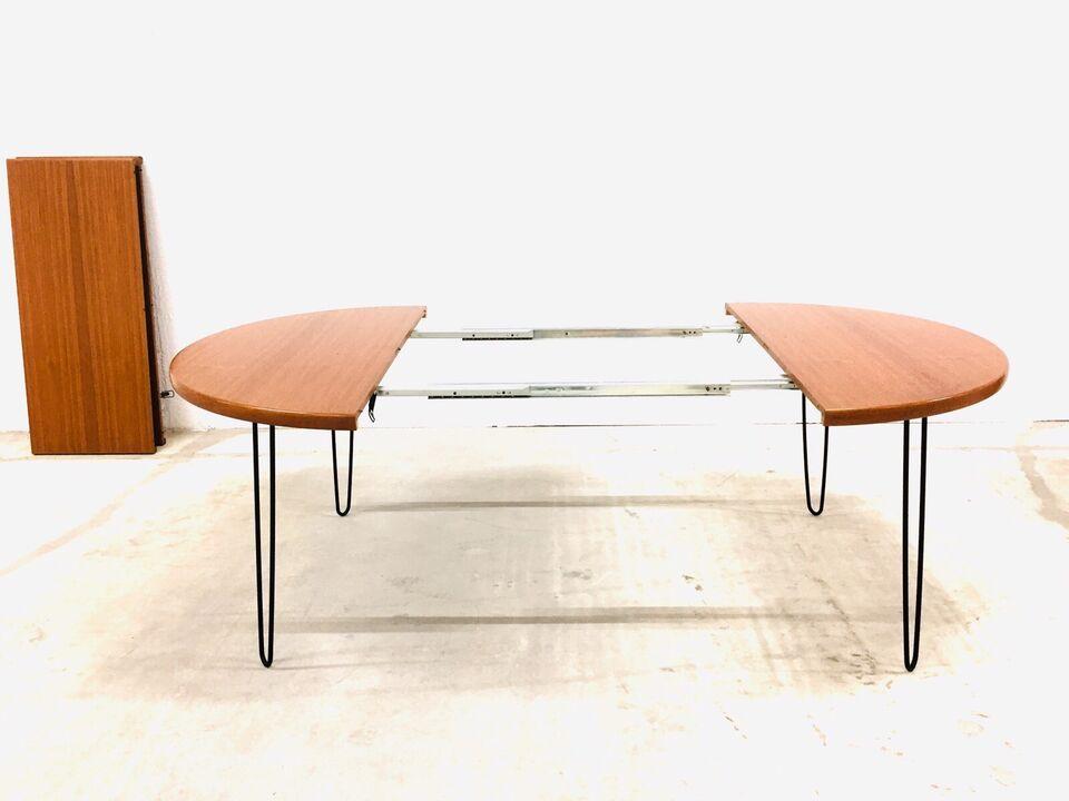 Runder XL Teak Esstisch mid century Tisch 60er Danish Design Holz