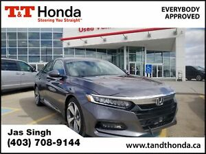 2018 Honda Accord Touring *Local Vehicle, No Accidents, Wirel...