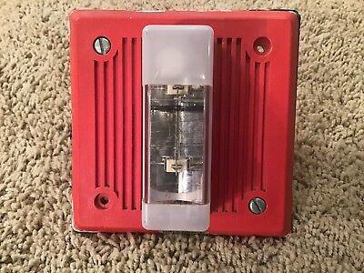Wheelock Eh-dl1-wm-24 Red Strobe Fire Alarm