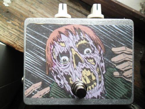 DenTone clone of Cesar Diaz Square Face fuzz germanium boutique pedal box
