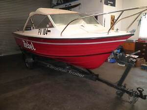 BOAT NAVIGATOR OFF SHORE 15 FT. ONE OWNER 90 HP O/B EVINRUDE Dandenong Greater Dandenong Preview