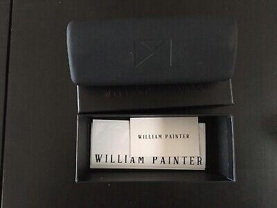 Brand New William Painter The Hook Titanium Polarized Sunglasses BLK (William Painter The Hook)