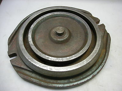 Swivel Base For Milling Vise Centerline Of T-nuts Is 10-34 Pin Is 1.183