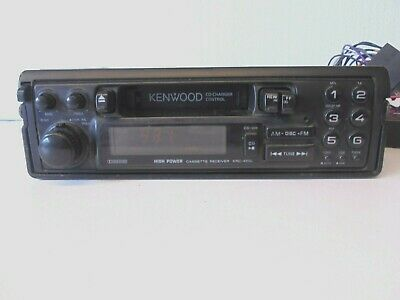 Kenwood KRC-452L Vintage Retro Pull Out High Power Car Radio Cassette Player segunda mano  Embacar hacia Spain
