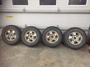 245 75 R16 tires on rims