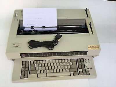 Ibm Lexmark Selectric Wheelwriter 1500 Electric Office Grade Typewriter