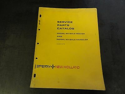 New Holland 80 Bale Mover and 85 Bale Handler Service Parts Catalog Manual 4-75
