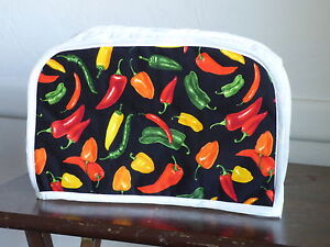 chili 2 slice toaster appliance cover new. Black Bedroom Furniture Sets. Home Design Ideas