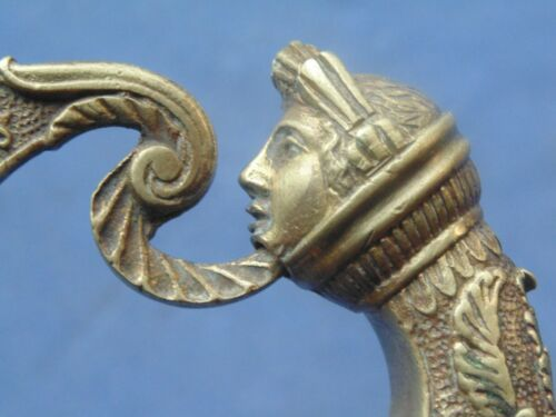 FRENCH COUR SWORD FOR GENERAL NAPOLEON / RESTAU 1804/25  ATHENA HEAD