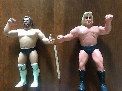 WWF LJN Loose lot of 2 figures Hacksaw Jim Duggan & Greg Valentine