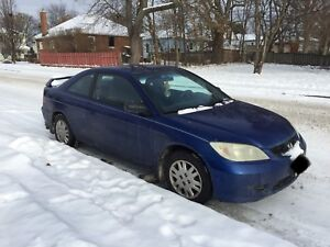 2004 Honda Civic coupe for sale - $2000 OBO!