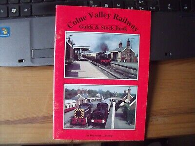 COLNE VALLEY RAILWAY GUIDE and STOCK BOOK