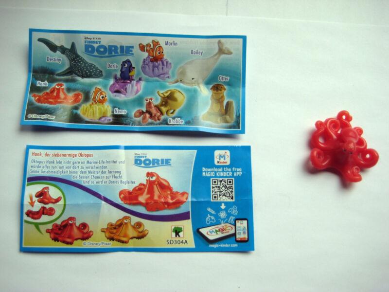Findet Dorie  -  Hank , der siebenarmige Oktopus  +  BPZ
