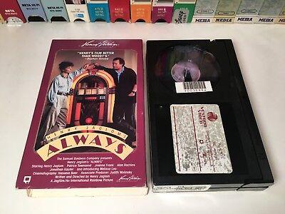 * Always 80's Drama Betamax NOT VHS 1985 Henry Jaglom Melissa Leo Beta