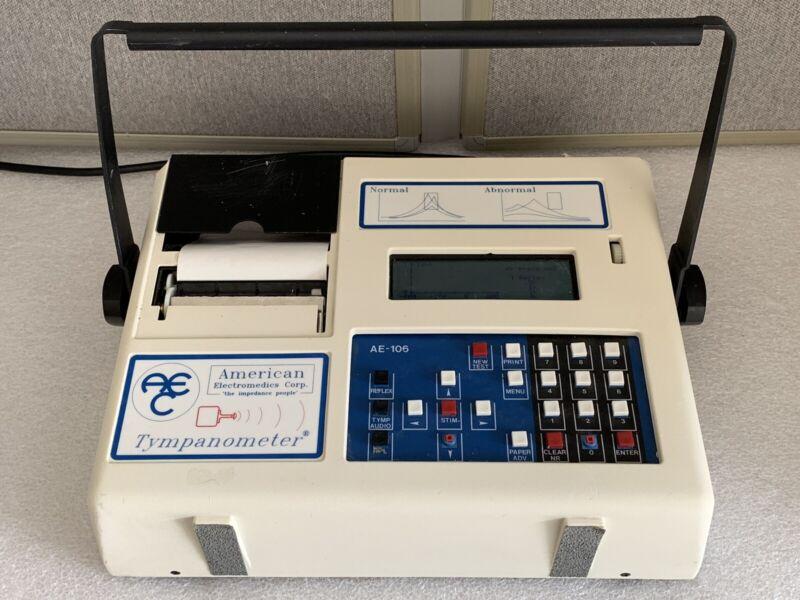 American Electromedics Tympanometer AE-106