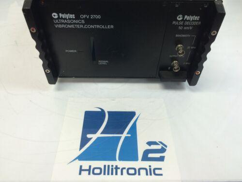 Polytec OFV-2700 Ultrasonics Laser Vibrometer Controller