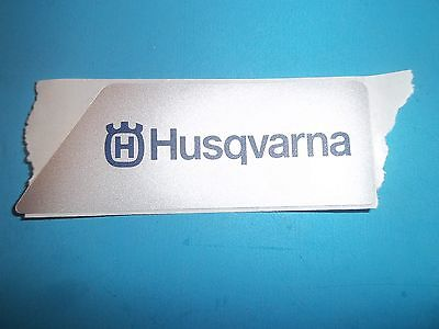 NEW HUSQVARNA SIDE COVER DECAL FITS 362 372 365 371 385 390 537033803 L@@K OEM