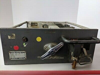 Vintage Motorola Two Way Tube Private Line Radio Ham Mobile Police Fire