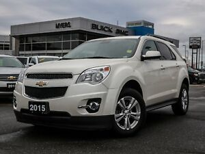 2015 Chevrolet Equinox 2LT, AUTO, LEATHER, TRUE NORTH PACKAGE, H