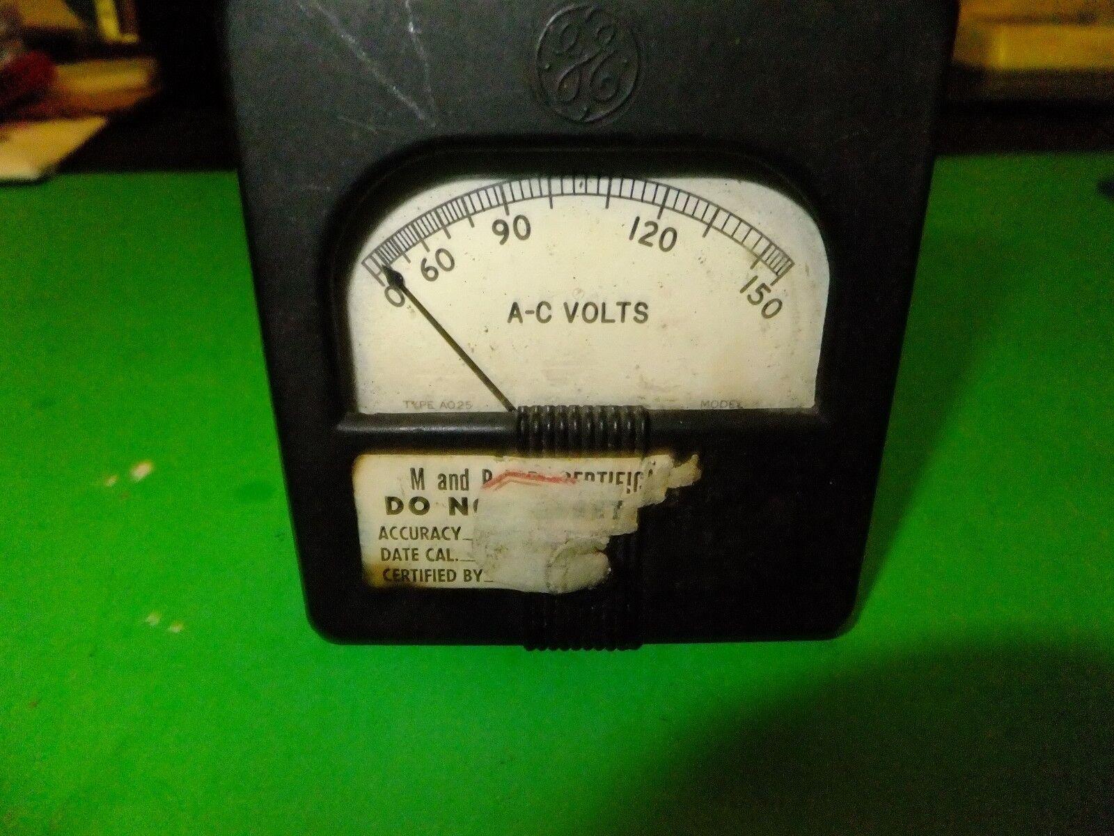 Vintage AC 0-150 Voltage gauge