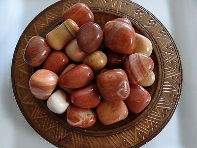 RED MALACHITE 1/4 Lb Stone Gemstone Tumbled Wiccan Pagan Metaphysical