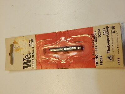 Weller Ptdd7 Screwdriver Tip 316 700deg F For Tc201 Tcp1 Iron