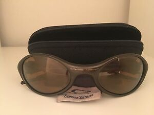 oakley glass warrnambool  oakley eye jacket 1.0 metallic brown/gold iridium sunglasses