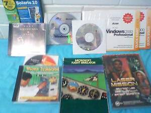 Original MS Windows CDs, 95 ($2), 98 ($4), and 2000 ($2) Greenslopes Brisbane South West Preview