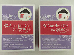 BNIB American Girl Truly Me Holiday Accessories Pack Cambridge Kitchener Area image 1