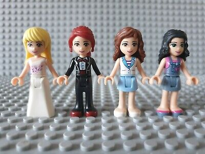 Set of 4 LEGO Friends Figures